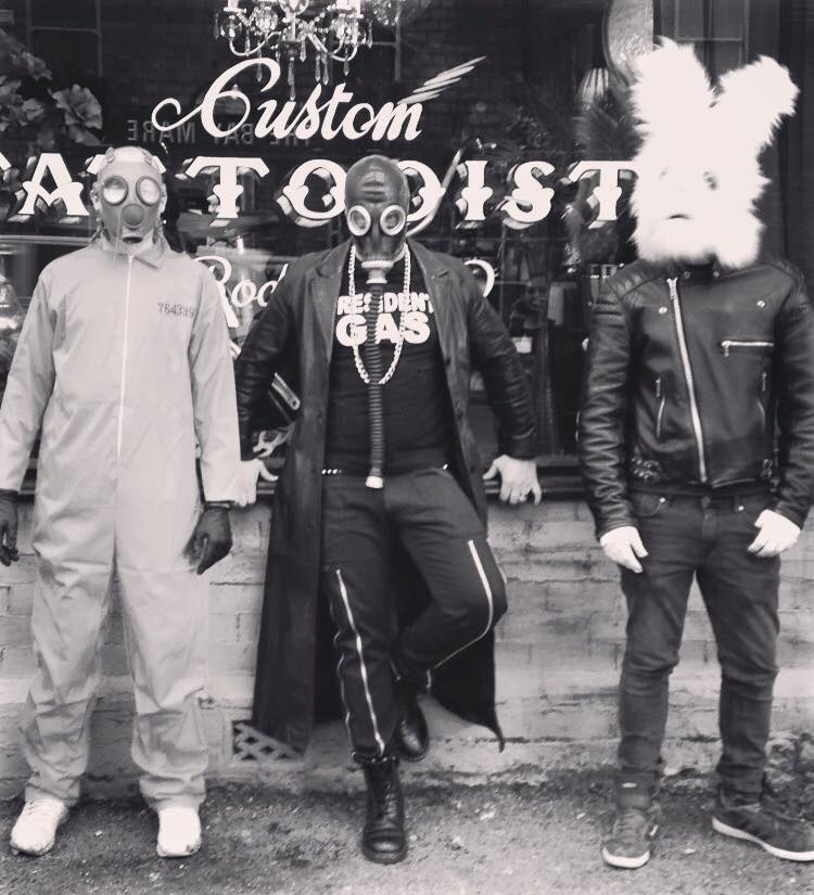 President GAS, the Gimp and the Big Rabbit